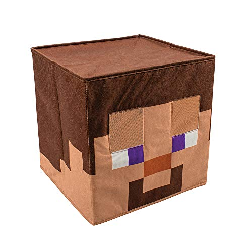 Minecraft Steve Mask Head Costume Headpiece, Official Minecraft...