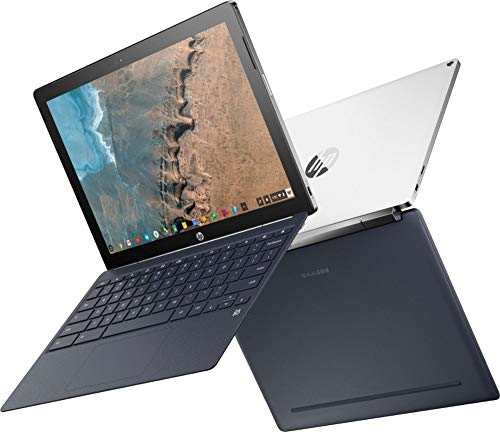 """HP 2-in-1 Flagship 12.3"""" 2K IPS WLED-Backlit Touch-Screen Chromebook, Intel Core M3-7Y30 Processor, 1.0GHz up to 2.6GHz, 4GB Memory, 32GB eMMC, USB 3.0, 802.11ac, Bluetooth, Webcam, Chrome OS, White"""