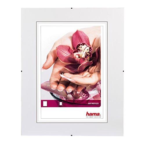 HAMA 00063130 Clip-Fix Portafoto senza cornice, Vetro antiriflesso, 30 x 40 cm
