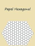 Papel Hexagonal: Cuaderno de Papel Cuadriculado Hexagonal – Para estudiantes y profesionales de Química – Dibujar estructuras de Química Orgánica