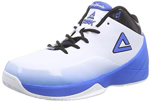Peak Sport Europe Herren Peak Jason Kidd Basketballschuhe, Weiß (White/Blue), 41