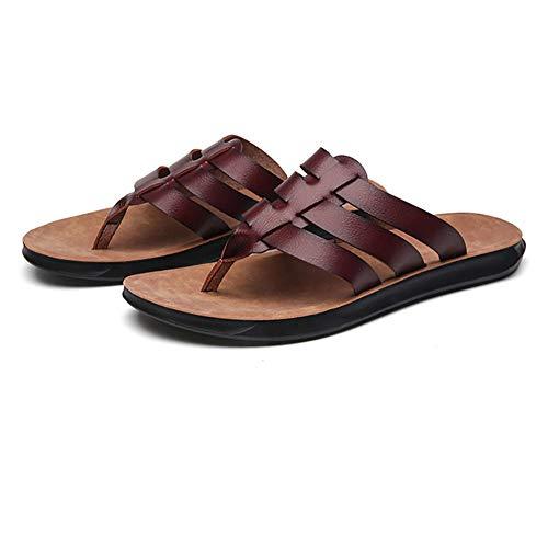 Zapatos de Playa y Piscina,Chanclas Verano Playa,Chanclas de Exterior, Zapatillas Ligeras-Red_42