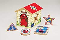 Clifford the Big Red Dog Shape Sorter by Scholastic