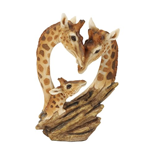 Naturecraft Giraffe Family Ornament Figurine