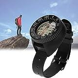 LQY Tauchkompass Unterwasser Kompass, flüssigkeitsgefüllte Starke magnetische 50 Meter wasserdichte Uhr-Art Kompass Luminous