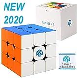 FAVNIC GAN356RS 立体パズル3x3x3 競技用 ステッカーレス 脳トレ おもちゃ (GAN356RS)