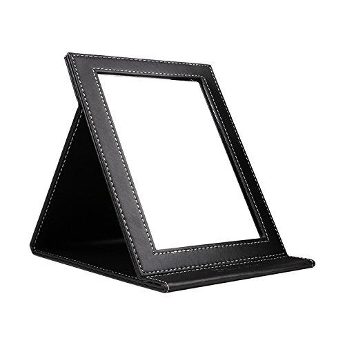 DUcare Espejo de Mano Portátil Compactos Espejo Plegable con Soporte,Grande(8x6 inch)