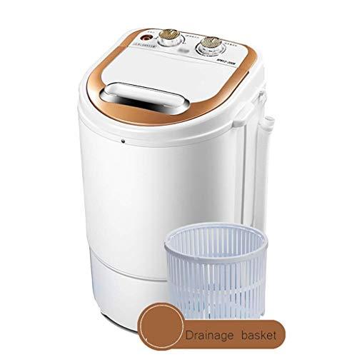 Lavatrici Mini, Portatile Compatto e Resistente Washing Machine Design Bambini Domestici Single Barrel Funzionamento Silenzioso, 260W di Potenza