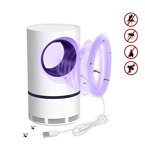 DZWJ Mosquito Killer USB Leise Insektenvernichter, Moskito-Mörder-Lampe Ultra-Stille Starke Anziehungskraft Ungiftiger Fotokatalysator Moskito-Lampe für das Innen- im Freienraum-Küchenbüro
