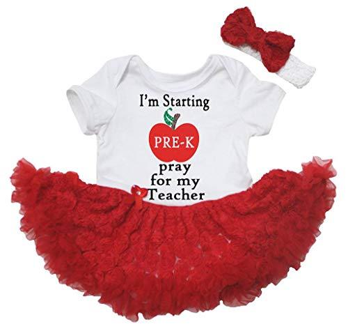 Petitebelle - Robe - Manches courtes - Bébé (fille) 0 à 24 mois Multicolore Multicolore - Rouge - L