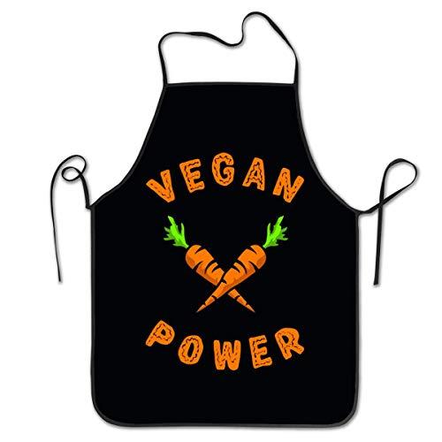 Not Applicable Unisex Küchenschürzen Damen Herren Kellnerin Koch Vegan Power Kochschürze Kochschürze Grillschürzen