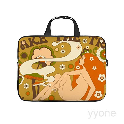 Neoprene Sleeve Laptop Handle Bag Handbag Notebook Case,Take The Trip Orange,House Plants Portable MacBook Laptop/Ultrabooks Case Bag Cover 13 Inch