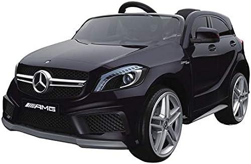 Toyas Mercedes Benz A45 AMG Sportwagen KINDERFAHRZEUG KINDERAUTO Schwarz