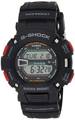 Casio Herren Watch G-SHOCK MUDMAN Reloj (Modelo de Asia) G-9000-1V