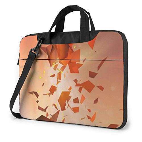 Laptop Case Computer Bag Sleeve Cover Art Fragments Waterproof Shoulder Briefcase