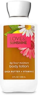 Stockout Bath and Body Works Signature Collection Love & Sunshine -Super Smooth Body Lotion -8 fl oz / 236 mL
