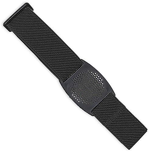 Diasticker® | Freestyle Libre - Fascia da braccio per sensore/Protezione sensori | Flessibile | Fascia protettiva per sensori Freestyle Libre | Griglia: Nero (Medium: 25-35 cm, Nero)