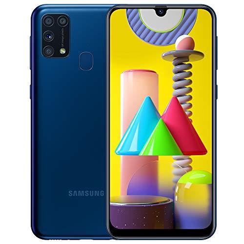 Samsung Galaxy M31 - Smartphone Portable débloqué 4G (Ecran 6,4 pouces - 64 Go - Double Nano-SIM - Android) - Bleu