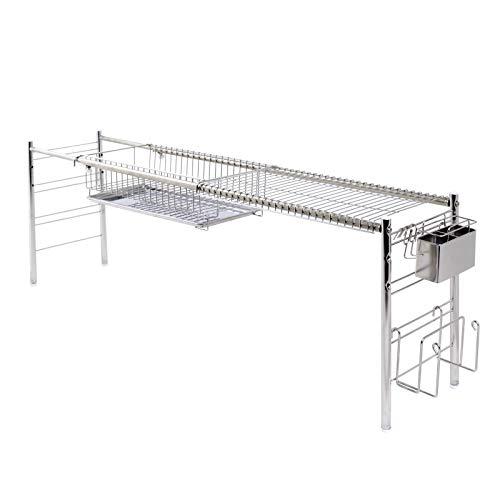 調理台が広~く使える シンク上伸縮水切り DX (1段)
