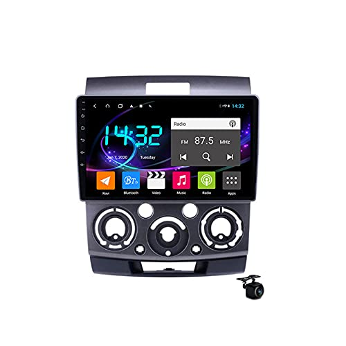 Android 10.0 Coche Estéreo Radio SAT FOR Mazda BT50 2006-2010 GPS Navigation 2 Din Head Unit MP5 Multimedia Video Player FM Bluetooth Receptor con 4G 5G WIFI SWC DSP Carplay,M600s