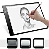 LED Artist Portable Digital Graphic Tablet Drawing Board Early Education Toy (As Shown)
