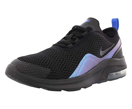 Nike Air Max Motion 2 (GS) - Zapatillas para chico, color negro, Unisex Niños, color Schwarz (Black/Anthracite/Racer Blue), tamaño 5.5Y