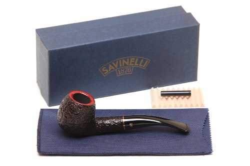 Imagen del productoSavinelli Roma 626 Black Stem Tobacco Pipe by Savinelli