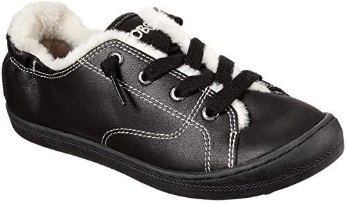 Skechers BOBS da Womens Beach Bingo 2 Slip On Memory Foam moda scarpe da ginnastica, Nero (Cruz V2 Fresh Foam),...