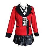 Runa Yomozuki Costume Long Eared Rabbit Coat School Uniform Cosplay Halloween(S)