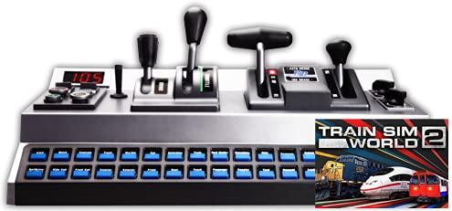 RailDriver USB Desktop Train Cab Controller with Train Sim World 2 Download…