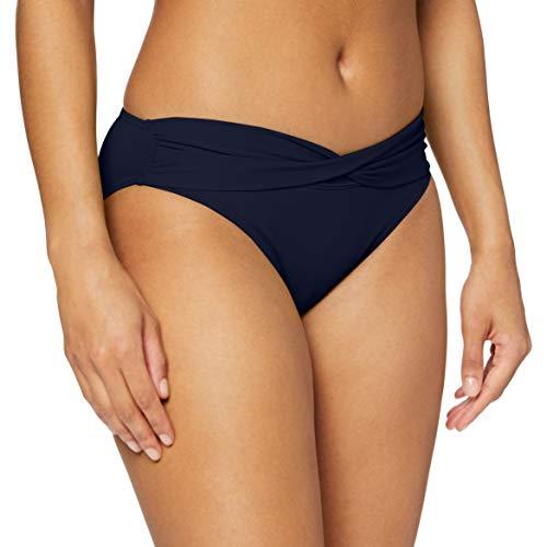 s.Oliver Damen Umschlaghose JPF-30 Bikinihose, Blau (Marine 24), 44