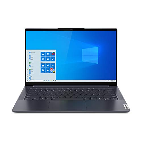 Lenovo Yoga Slim 7 14IIL05 35,5 cm (14 Zoll) Full HD Notebook (Intel Core i7-1065G7, 16GB DDR4 RAM, 512GB PCIe SSD, GeForce MX350, Webcam, Win 10 Home)