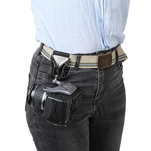 Spider Pro v2 Camera Holster Hüft-Tragesystem mit Holster, Kameraplatte & Pin für eine professionelle DSLR-Kamera