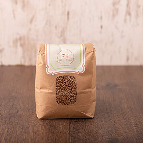 süssundclever.de® Bio Berglinsen | Gourmet | 2 kg | unbehandelt | plastikfrei und ökologisch-nachhaltig abgepackt