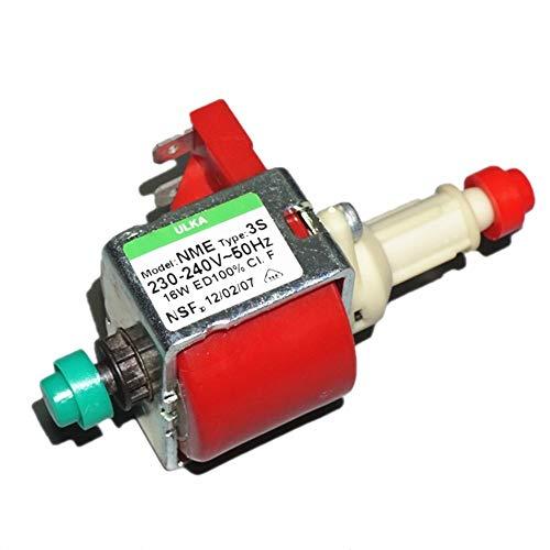 LIXUDECO Pompe à Eau Origine Pompe électromagnétique importé Italie ULKA NME-3S 220V16W Vapeur Pompe à Eau de la Machine à café Propre