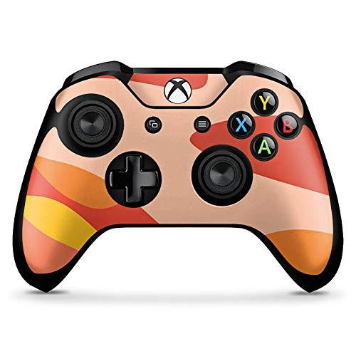 DeinDesign Skin kompatibel mit Microsoft Xbox One X Controller Aufkleber Folie Sticker Camouflage Bundeswehr Orange