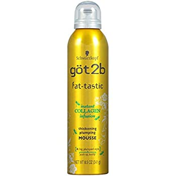 Got2B Fat-tastic Thickening Plumping Hair Mousse 8.5 Ounce