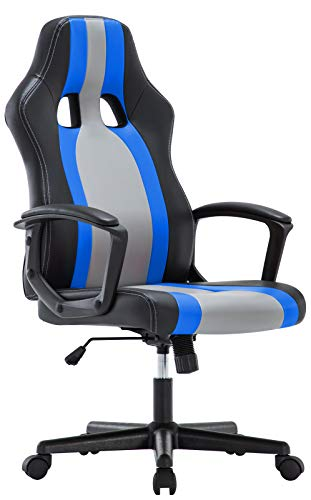 IntimaTe WM Heart Silla de Escritorio, Silla Gaming Ergonomica Regulable Altura Ajustable 360°Giratorio PU 150KG