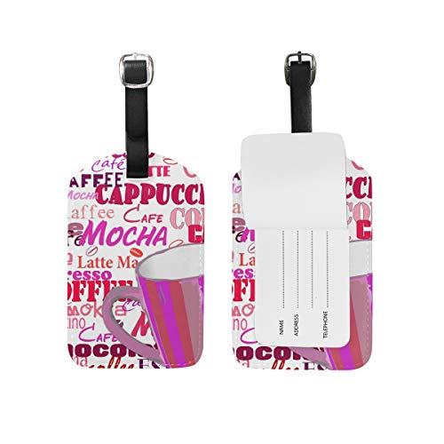 FAJRO Reisetasche für Kaffeetasse, Schriftzug