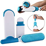 QERINKLE® Pet Fur and Lint Remover Pet Hair Remover Multi-Purpose Double Sided Self-Cleaning
