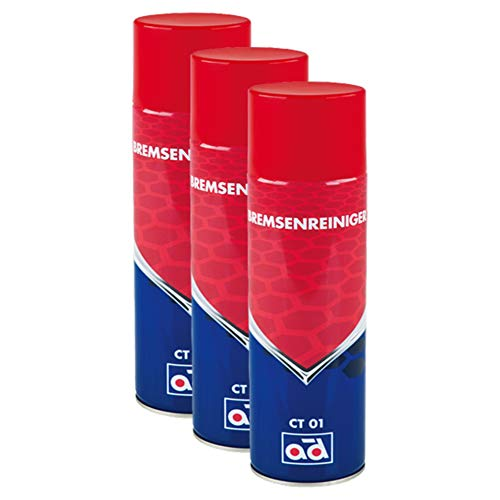 AD Chemie 3X Bremsenreiniger Ct 01 500ml Aerosoldose Spraydose Spray Kanister Bremsenreinigung Scheiben Trommel Scheibenbremse Trommelbremse 40505604