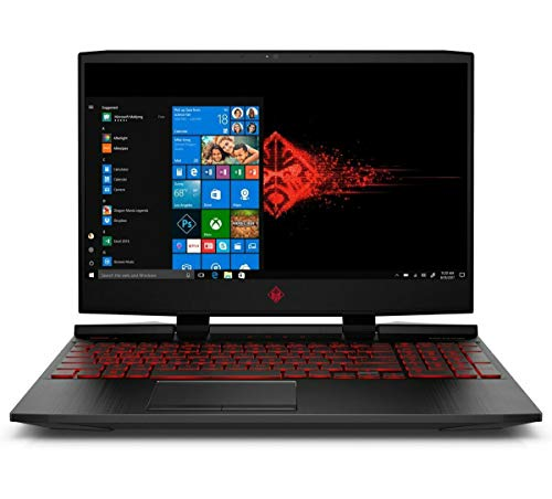 "2019 HP OMEN 15.6"" FHD IPS High Performance Gaming Laptop, 9th Gen Intel Quad Core i5-9300H Upto 4.1GHz, 12GB RAM, 128GB PCIe SSD + 1TB HDD, NVIDIA GeForce GTX 1650 4GB, Backlit Keyboard, Windows 10"