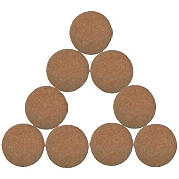 6 balles de baby foot pro neuves en liége blanches homologuées baby-foot BONZINI
