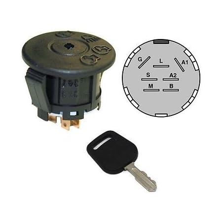 Ignition Switch fits John Deere L100 L105 L107 L108 L110 L111 L120