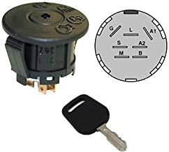 The ROP Shop Ignition Switch & Key fit Cub Cadet 465 466 467 475 476 485 Volunteer WT CAB 747