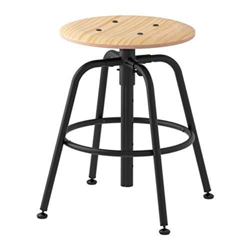 IKEA Kullaberg 103.636.51 - Taburete (madera de pino), color negro