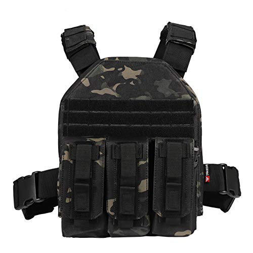 vAv YAKEDA Tactical CS Adjustable Vest (Black)