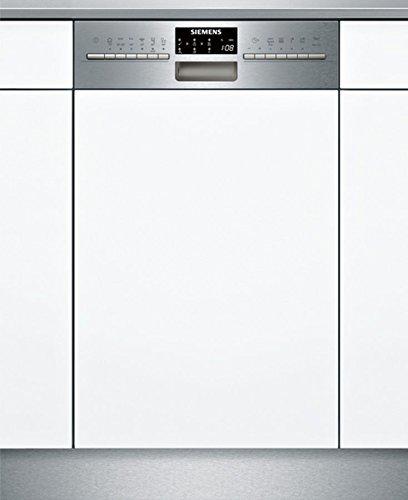 Siemens SR556S01TE Geschirrspüler Teilintegriert / A+++ / 188 kWh/Jahr / 2660 L/Jahr / 10 kg / Edelstahl / Wärmetauscher / Wechselspül-Technik