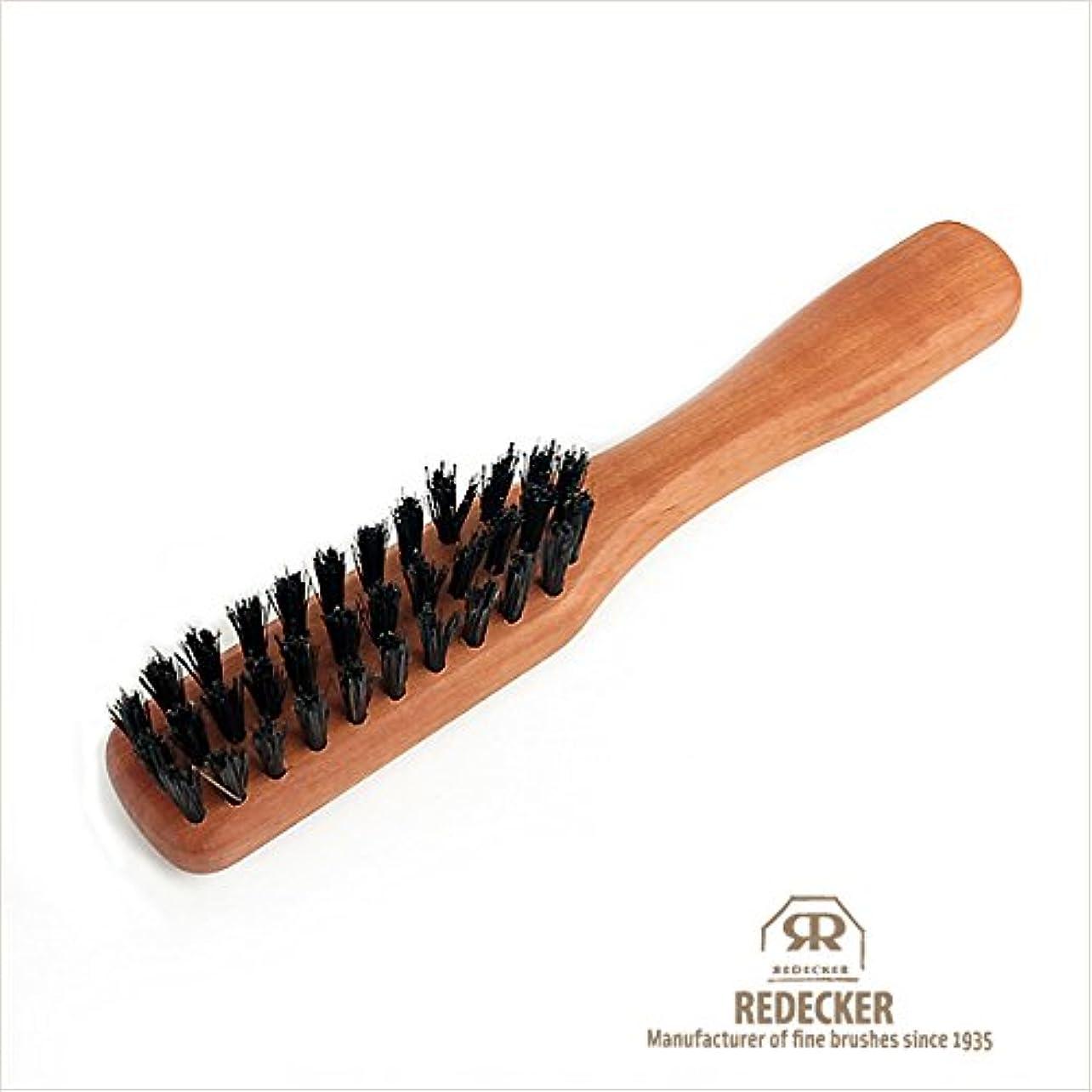 日常的に暖かさ後方[REDECKER/レデッカー]柄付き髭ブラシ