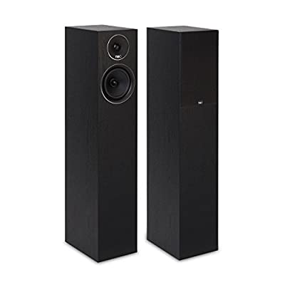 TIBO Harmony 8 Passive Hi-Fi Floor Standing Speakers 200W, Black from TIBO